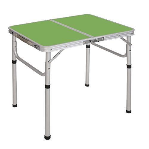 YPOD Zusammenklappbarer Gartentisch, Starke Tragfähigkeit Ausklappbarer Picknicktisch, Camp-Tische Tragbar Klappbar Für Campingcamping Im Freien(Color:NCLv)