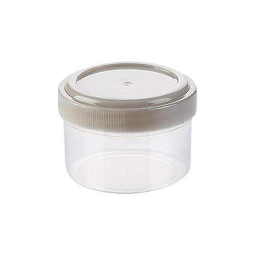 QFDM Flaschen, Gläser & Boxen 4 stücke Kunststoff Sauce Squeeze Flasche Gewürzbox Salat Dressing Container Outdoor Tragbare Grill Gewürz Jar Küche Werkzeug Lagerflasche (Color : 4pcs)