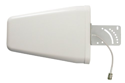 TECHTOO New Wide Band Directional Antenna 700-2700 MHz for Wilson Cellphone Amplifier/Cellular Signalbooster with N Female Connector Ends