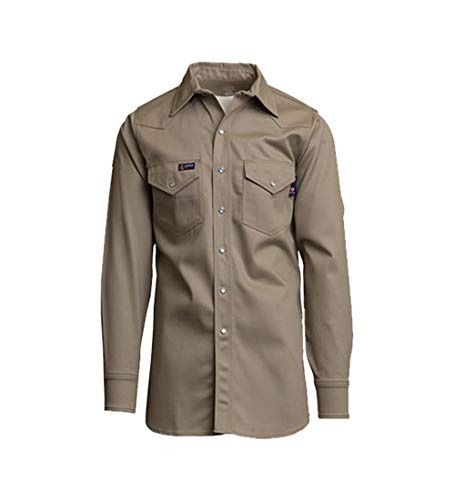 Lapco FR INKWS-16 L Flame Resistant Welder's Shirts