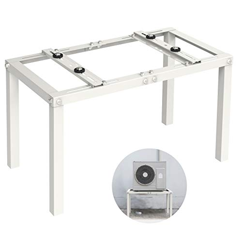 Jeacent Ground Stand Bracket for Mini Split Air Conditioner, Condensor Mounting Brackets Support