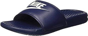 Nike Men s Benassi Just Do It Athletic Sandal Purple 11 D M  US