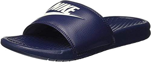 NIKE Benassi JDI, Chanclas Unisex Adulto, Azul (Midnight Navy/Windchill 403), 42.5 EU