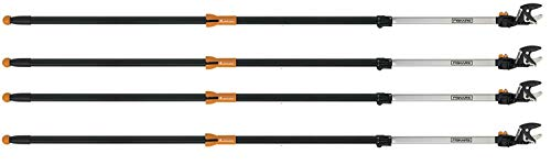 Great Features Of Fiskars 7.9-12 Foot ExtendableTree Pruning Stik Pruner (92406935K) (Pack of 4)