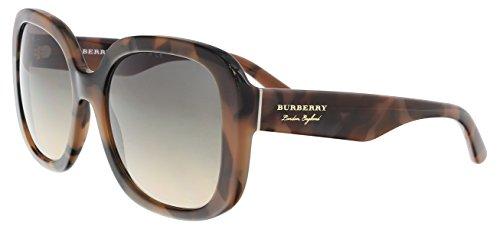 Burberry 0BE4259 3641G9 56 Gafas de sol, Marrón (Spotted Brown/Lightbrowngradientgrey), Mujer