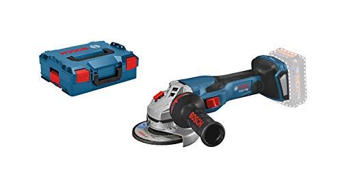 Bosch Professional BITURBO Akku Winkelschleifer GWS 18V-15 C (Scheibendurchmesser 125 mm, ohne Akkus und Ladegerät, in L-BOXX 136)