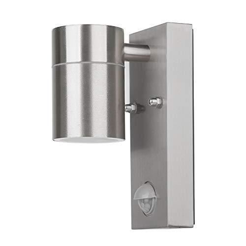 Grafner® Edelstahl Außenleuchte mit Bewegungsmelder Wandlampe Down Aussenlampe IP44 26BPIR