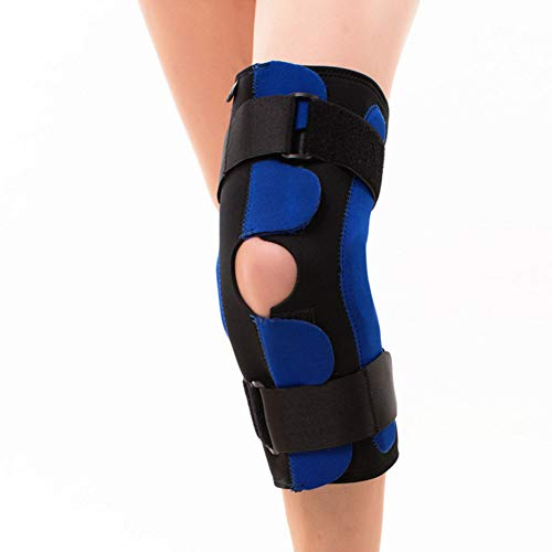 MOXIN Hinged Knee Support Brace, Adjustable Brace,Best Kneepad Support for Sports Injury Rehabilitation & Protection Against Reinjury, Running, Walking, Cycling, Basketball