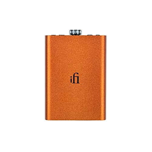 iFi Hip-dac2 - Portable Balanced DAC Headphone Amplifier for Android, iPhone with USB Input Only/Outputs: 3.5mm Unbalanced / 4.4mm Balanced – MQA Decoder