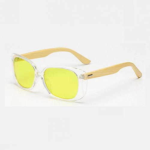 GEDASHU Sonnenbrille Sonnenbrille Männer Frauen gespiegelt Uv400 Sonnenbrille Echtholz Shades Gold Blue Outdoor Sonnenbrillen Männlich