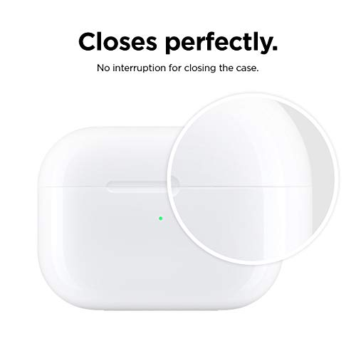 elago Dust Guard Compatible with AirPods Pro 3rd Generation - Dust-Proof Film, Ultra Slim, Luxurious Looking, Protect from Iron/Metal Shavings (1 Set, Dark Grey) [US Patent Registered]