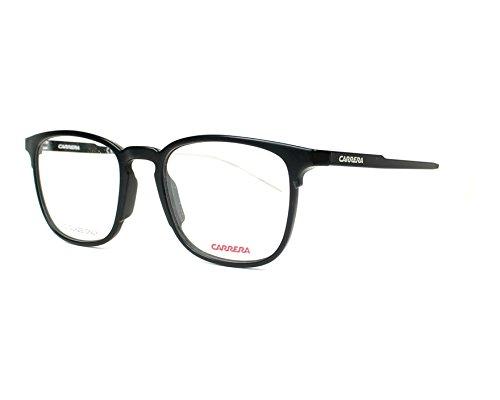 Carrera Herren CA6666 Sonnenbrille, Matte Black Shiny Black, 50