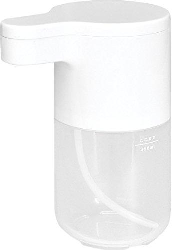 dretec(ドリテック) ソープディスペンサー 泡 自動 手指消毒 家庭用 非接触 ハンドソープ 手洗い センサー キッチン バスルーム 洗面所用 SD-907WT(ホワイト)