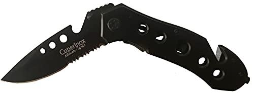 Cuperinox Coltello da Caccia   coltello militare   coltello da campeggio   coltello tattico   coltello outdoor   coltello da pesca   5 funzioni