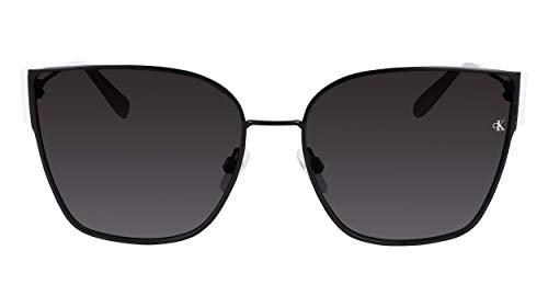 Calvin Klein CKJ21209S Gafas, Black/White, 61/17/140 para Mujer