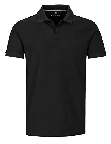 BASEFIELD (S-NOS Polo Pique, schwarz(schwarz (900900)), Gr. M