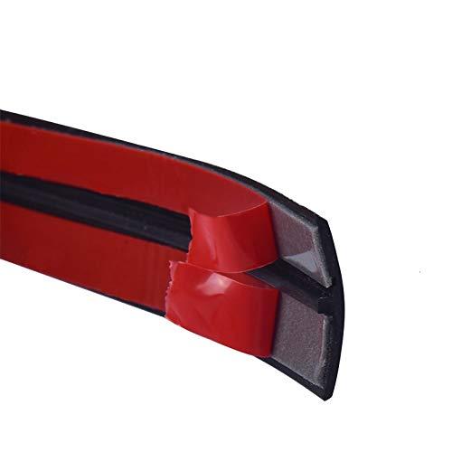 MNZDDDP Sello De Goma Automotive Borde De Sellado De La Automoción Piezas De Automóviles Techo De Aislamiento Etiquetas En Las Ventanas Protector Parabrisas (Color : 19mm 2m)