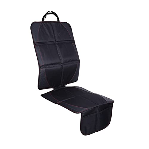 QWHK Store Oxford Cotton Cuir de Luxe Ciel Soiseau de sécurité Enfant Auto Seat Protector Tapis Protection améliorée pour Siège Auto 123 * 48cm