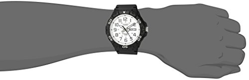 Casio watches Casio Men's 'Diver Style' Quartz Resin Casual Watch, Color:Black