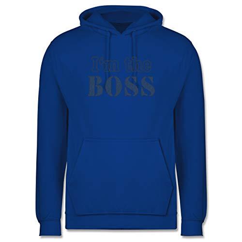 Shirtracer Statement - I\'m The Chef - wie aufgenäht - M - Royalblau - jugendlichen Pullover - JH001 - Herren Hoodie und Kapuzenpullover für Männer