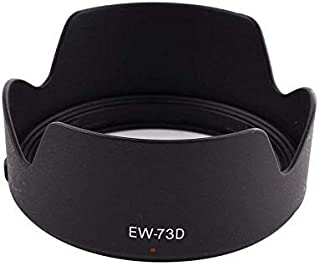T-GO EW-73D Lens Hood for Canon EF-S 18-135mm f/3.5-5.6 is USM Lens