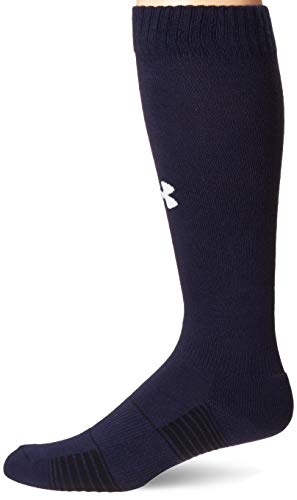 Under Armour Over-The-Calf équipe Chaussettes – Midnight Bleu Marine, Taille L