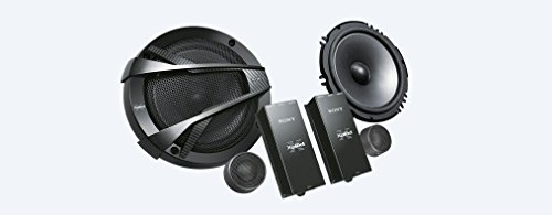 Sony XS-XB1621C 2-Way Component Speaker System (Black)