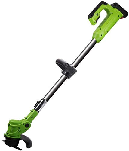 Lightweight Powerful Outdoor Grass Trimmers Electric Lawn Mower Agricultural Cordless Weeder 21V Lithium Battery Portable Garden Pruning Tool Grass Trimmer Brush Cutter SHIYUE