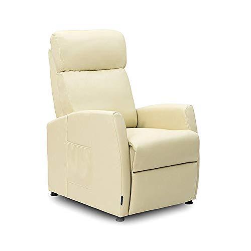 Cecotec Sillón Relax Masaje Compact Push Back Beige