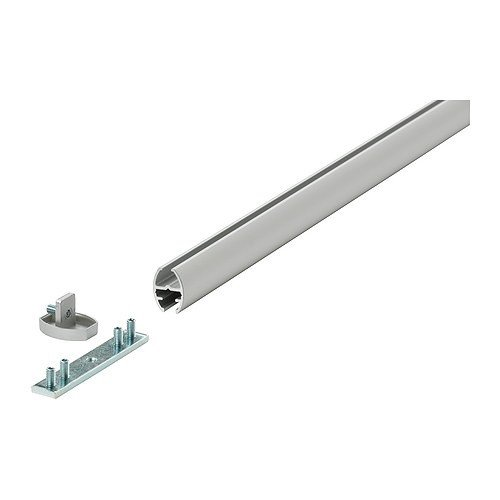 IKEA KVARTAL -Einzellaufschieneaus Aluminium - Farbe - 140 cm