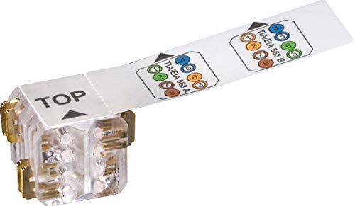 Leoni Kerpen Datacom MegaLine Connect45 LKD9A5040110000 VE25 Kabels. 27-26 Modularer Steckverbinder 4050647208587