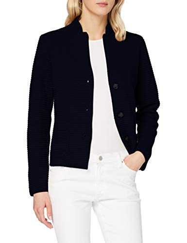 United Colors of Benetton 1344D6833 Maglione Cardigan, Blu 016, XS Donna