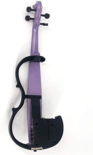 ZYF Violines Principiantes de violín electrónicos Jugando Púrpura Sólido Producción de Madera para Estudiantes Principiantes
