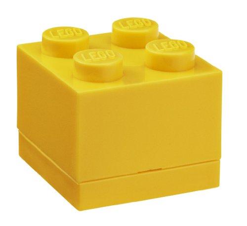 LEGO Mini Box 4 Bright Yellow