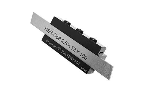 PAULIMOT Abstechstahlhalter, Schafthöhe 10 mm, mit HSS-Messer (8% Kobalt)