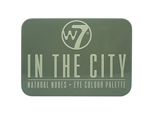w7, In the City, Palette di ombretti effetto naturale