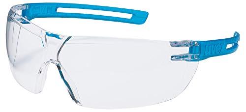 Occhiali Protettivi uvex x-fit   Lenti PC Incolore   Protezione UV 400   NF EN 166 170   Lenti Interne Antiappannanti   Lenti Esterne Antigraffio e Resistenti Alle Sostanze Chimiche