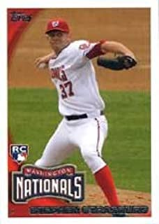 Stephen Strasburg 2010 Topps Traded Updates and Highlights Mint Rookie Card #661