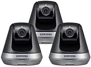 Samsung SNH-V6410PN SmartCam Pan/Tilt Full HD 1080p Wi-Fi IP Camera Bundle Triple Pack (Renewed)