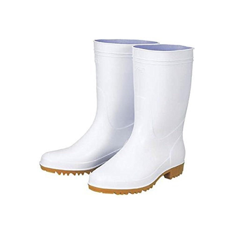 ジーベック 抗菌衛生白長靴85760白240 85760240-3355 【2960435】