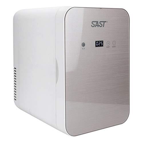 Q-HL Mini Nevera Frigorífico Refrigerador 8l Portátil Mini Refrigerador con Refrigerador 12v Refrigerador De Doble Uso Dual-Freezer Warmer para Coches Casas Oficinas Y Dormitorios