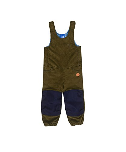 Finkid Kuutio capers navy Kinder Outdoor Kord Latzhose