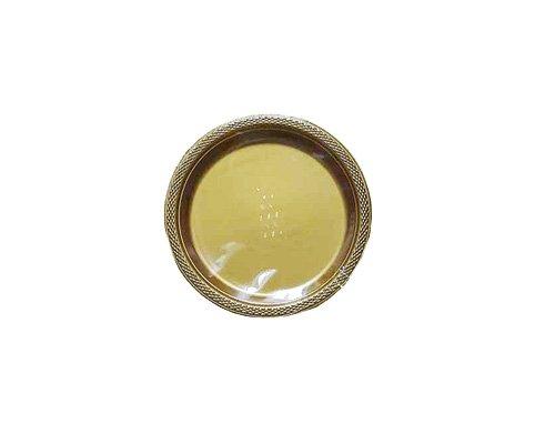 Amscan International 552284–19 kunststof, goud, 17,7 cm