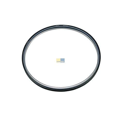 Deckeldichtung Dichtung für Deckel geeignet für Thermomix TM31 Vorwerk NEU 31 TM schwarz Silikon Kunststoff Plastik