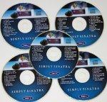 SIMPLY SINATRA SET Music Maestro CDG Karaoke 5 Disk...