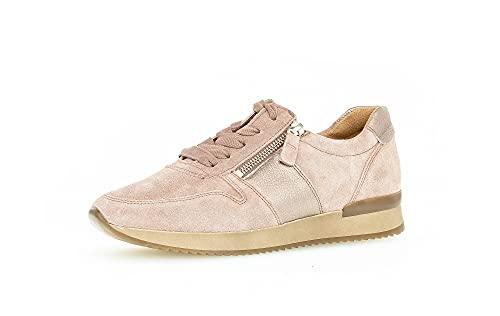 Gabor Damen Low-Top Sneaker, Frauen Sneaker Low,Ladies,Halbschuhe,straßenschuhe,Strassenschuhe,Sportschuhe,Freizeitschuhe,Dark-Rose,40 EU / 6.5 UK