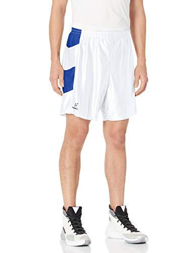 Intensity - Basketball-Shorts für Damen in Weiß / Königsblau, Größe S