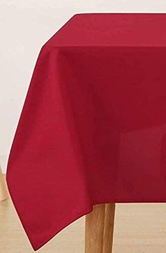 Le Chateau Easy Care - Juego de servilletas (4 unidades), color rojo