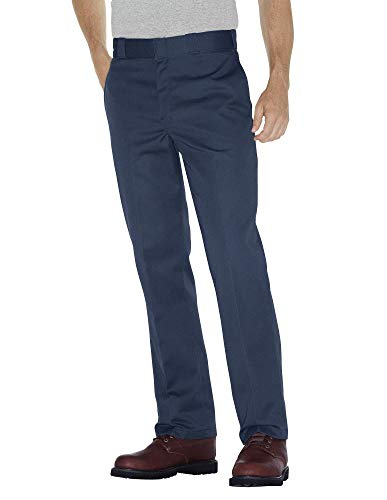 Dickies Men's Original 874 Work Pant, Navy, 34W x 30L