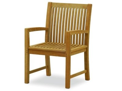 Atlanta Teak Furniture - Teak Arm Chair - Extra Wide